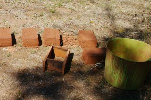 mudbrick making