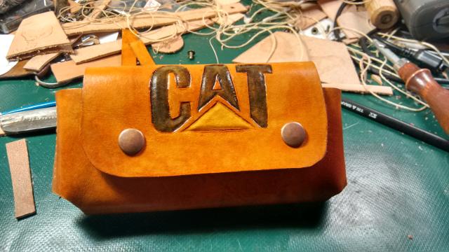 Leather Phone Case - horizontal, custom